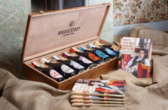 Mariestads limiterade samlingsserie och jubileumsbok hyllar Den Stora Smakresan