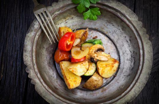 Krispiga rostade grönsaker