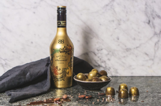 Praliner med smak av Baileys Chocolat Luxe
