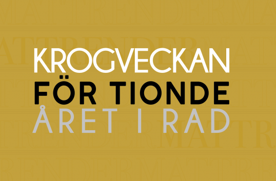 Krogveckan, Sveriges största restaurangfestival