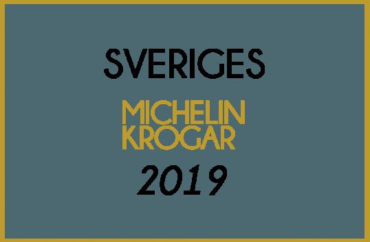 Sveriges Michelinkrogar 2019