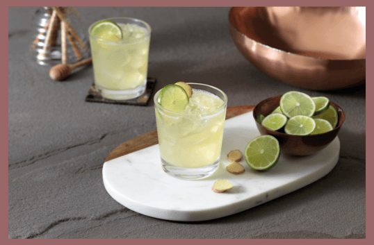 Honey Ginger Margarita