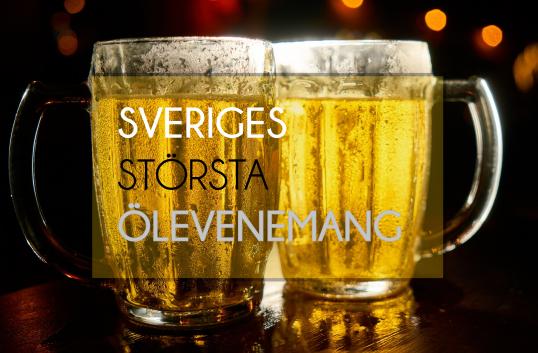 Snart dags för Sveriges största ölevenemang