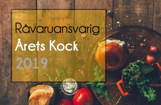 Råvaruansvarig Årets Kock 2019