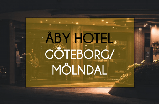 Åby Hotel i Göteborg/Mölndal har öppnats