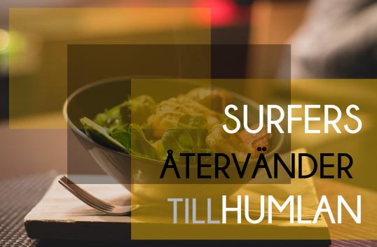 SURFERS ÅTERVÄNDER TILL HUMLAN