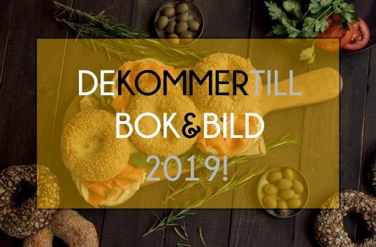 Vad har Paul Svensson, Anna Charlotta Gunnarson och Johan Ehrenberg gemensamt?- De kommer till Bok & Bild 2019!