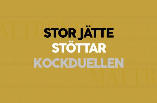 Orkla Foods Sverige stöttar Kockduellen