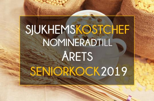 Stockholms Sjukhems kostchef nominerad till Årets Seniorkock 2019 av White Guide