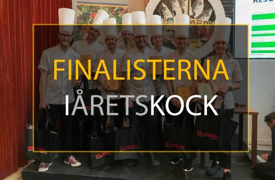 Finalisterna i årets kock