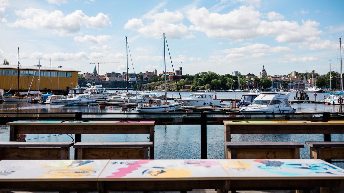 Svenska smaker på Spritmuseums Brygga & Berså