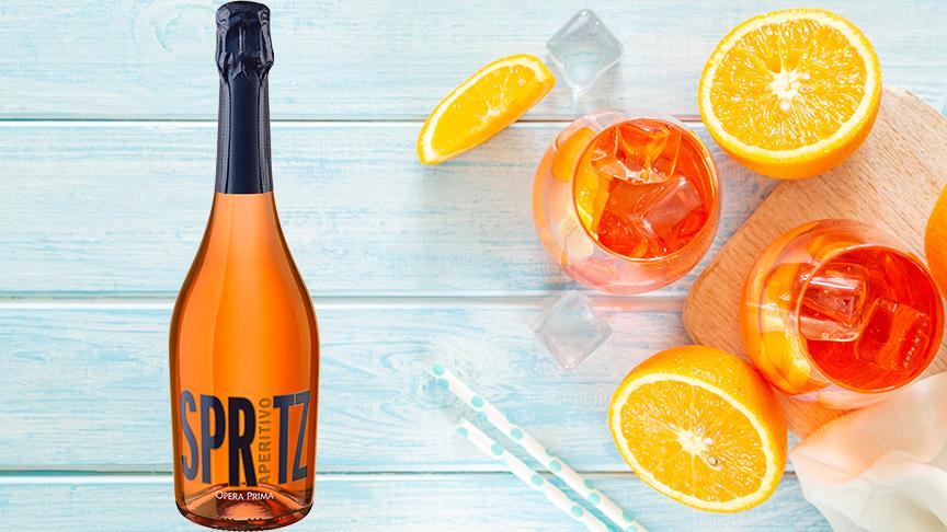 Aperitivo Spritz - en fräsch sommardrink med klassiska smaker av pomerans och blodapelsin
