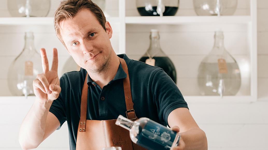 Historiskt prisregn i mästarklass till Hernö Gin i The Spirit Business Gin Masters