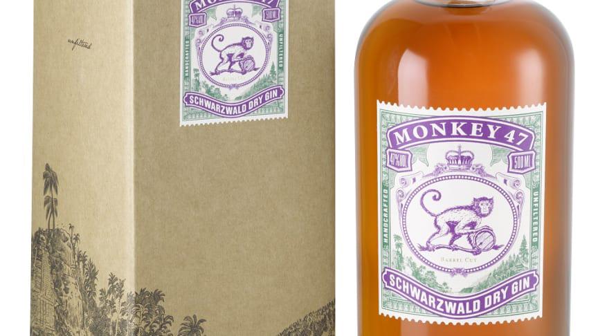 Monkey 47 Gin: Barrel Cut 2019 återvänder till Systembolagets exklusiva beställningssortiment