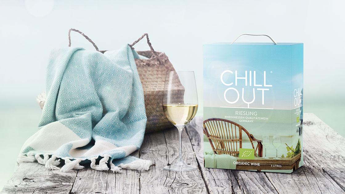 CHILL OUT Organic Riesling – ekologiskt kvalitetsvin från tyska Rheinhessen