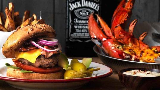 Jack Daniel's whiskeydressing