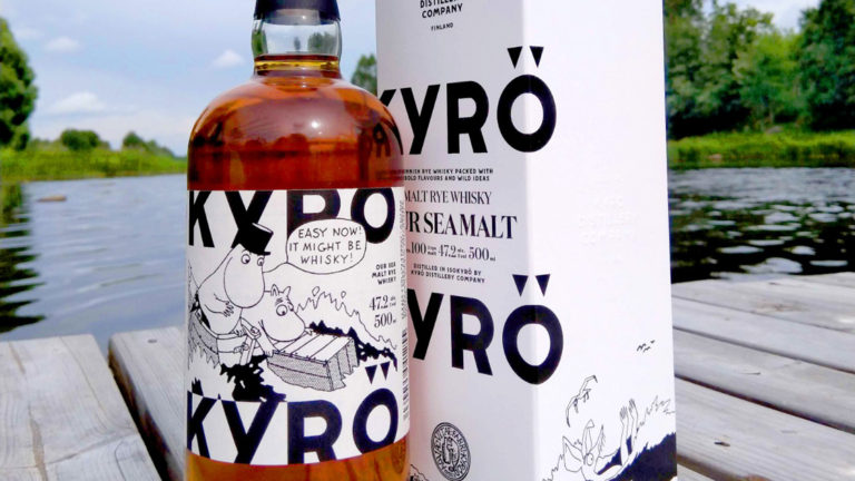 Finskt destilleri i samarbete med Mumin
