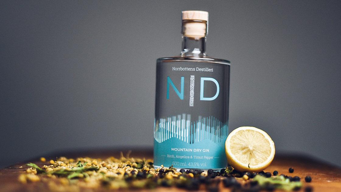 Svensk gin prisas utomlands – här är uppstickaren från Norrbotten