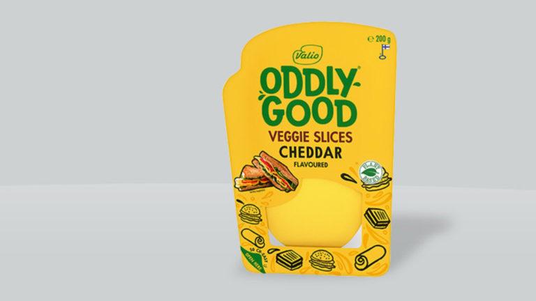 Valio lanserar Oddlygood® Veggie Cheddar