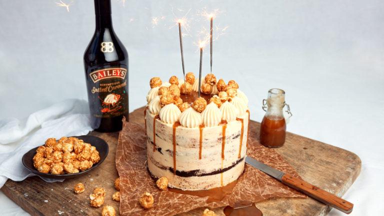 Baileys Salted Caramel Cake