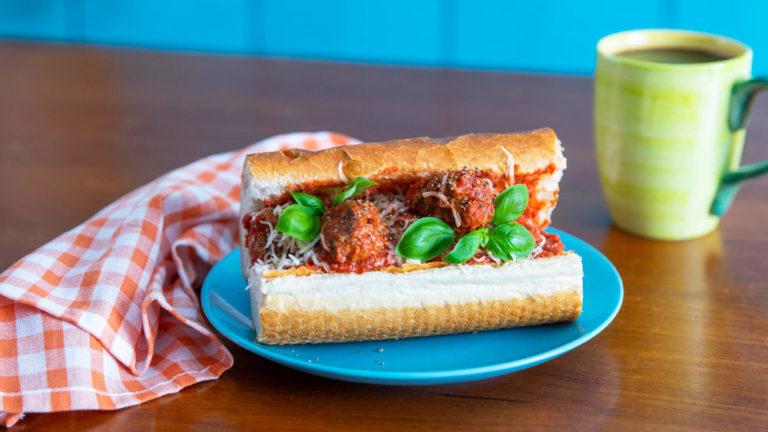 Italiensk köttbullemacka