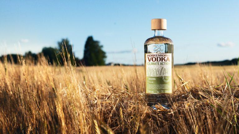 Ny vodka i samarbete med miljöorganisation
