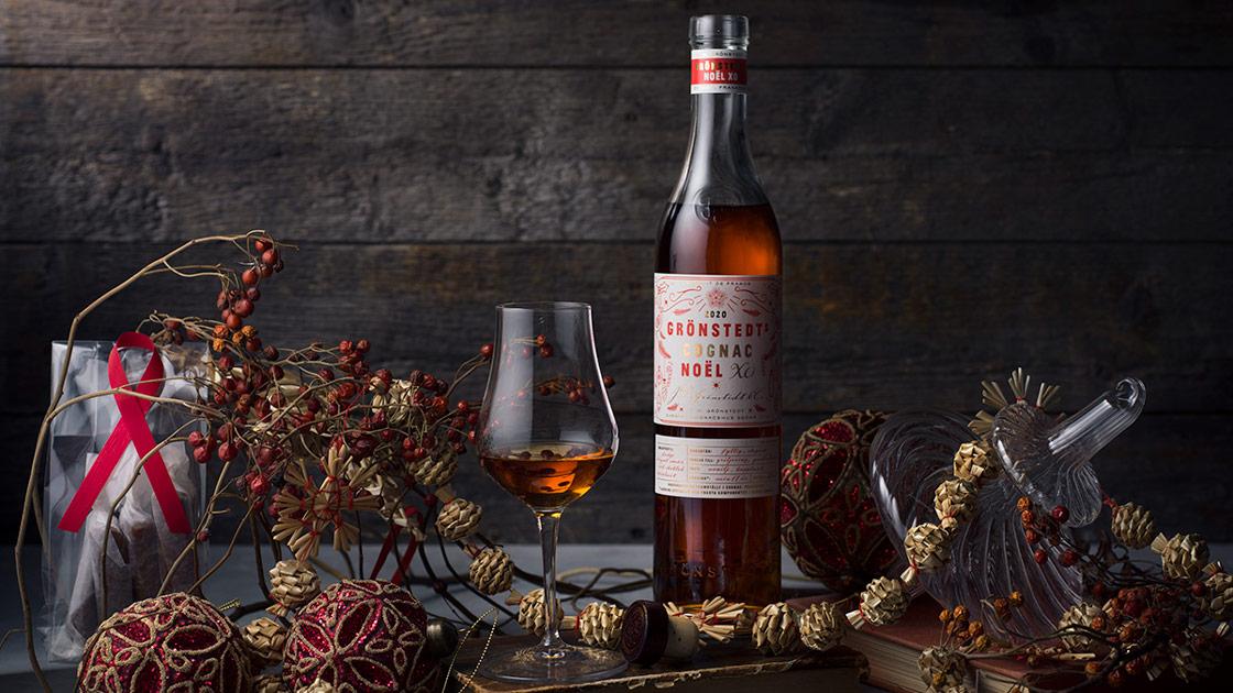 Grönstedts lanserar sin årliga limiterade julcognac, XO Noël.
