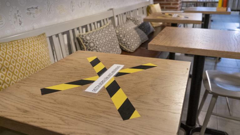 Restaurangerna går på knäna under pandemin