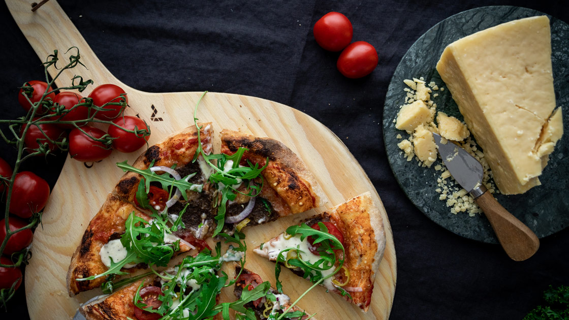 Sofias kebabpizza med Västerbottensost