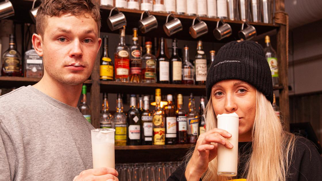 Prisbelönta baren tolkar semla i flytande form