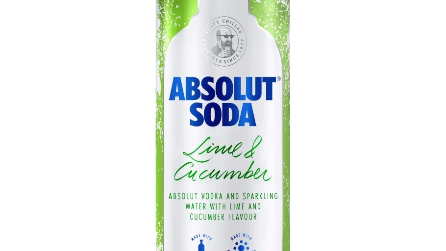 Absolut satsar på nytt segment med Absolut Soda Lime & Cucumber