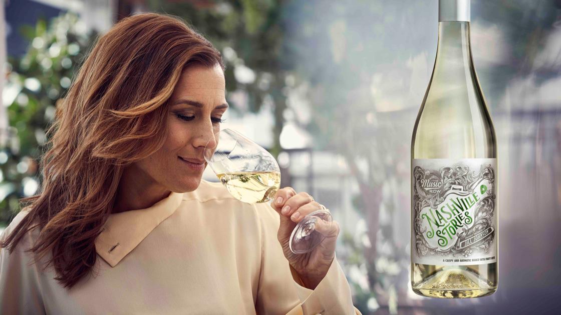 Jill Johnson lanserar vårens vita vin - Nashville Stories Bianco