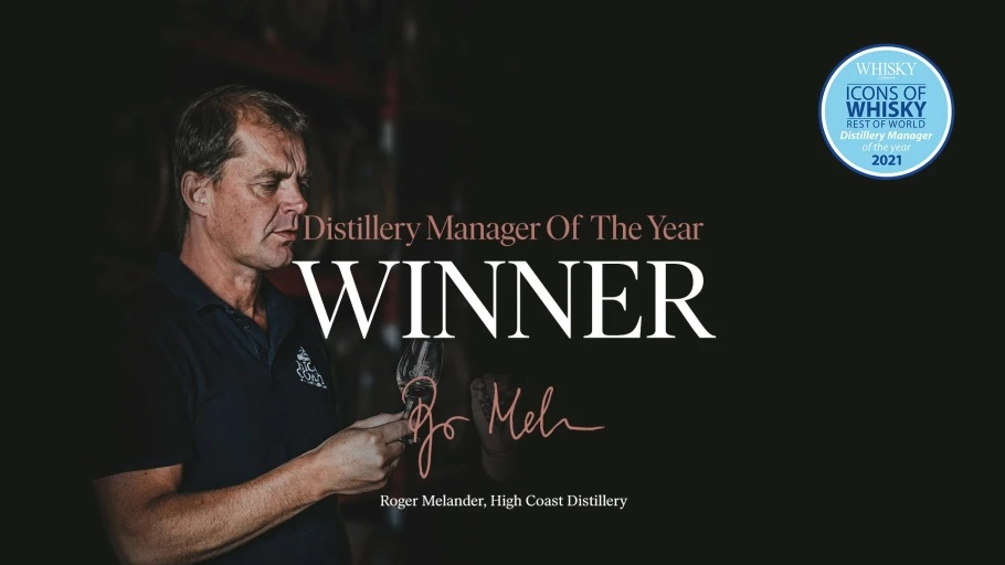 Roger Melander utsedd till Distillery manager of the year