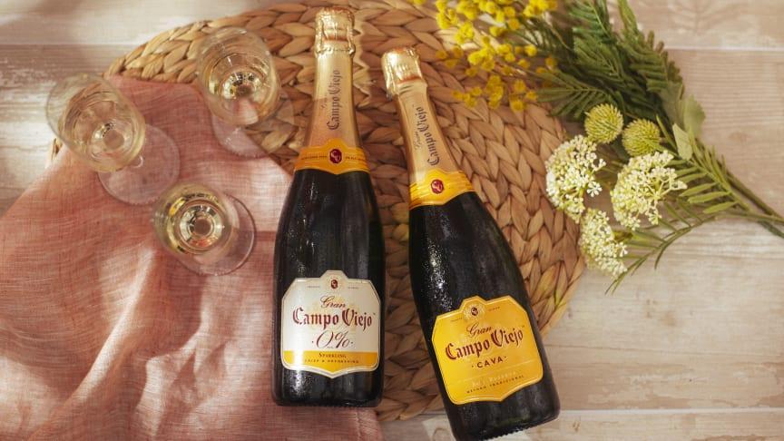 Campo Viejo utökar sin palett: ett nytt alkoholfritt bubbel på cava-druvor