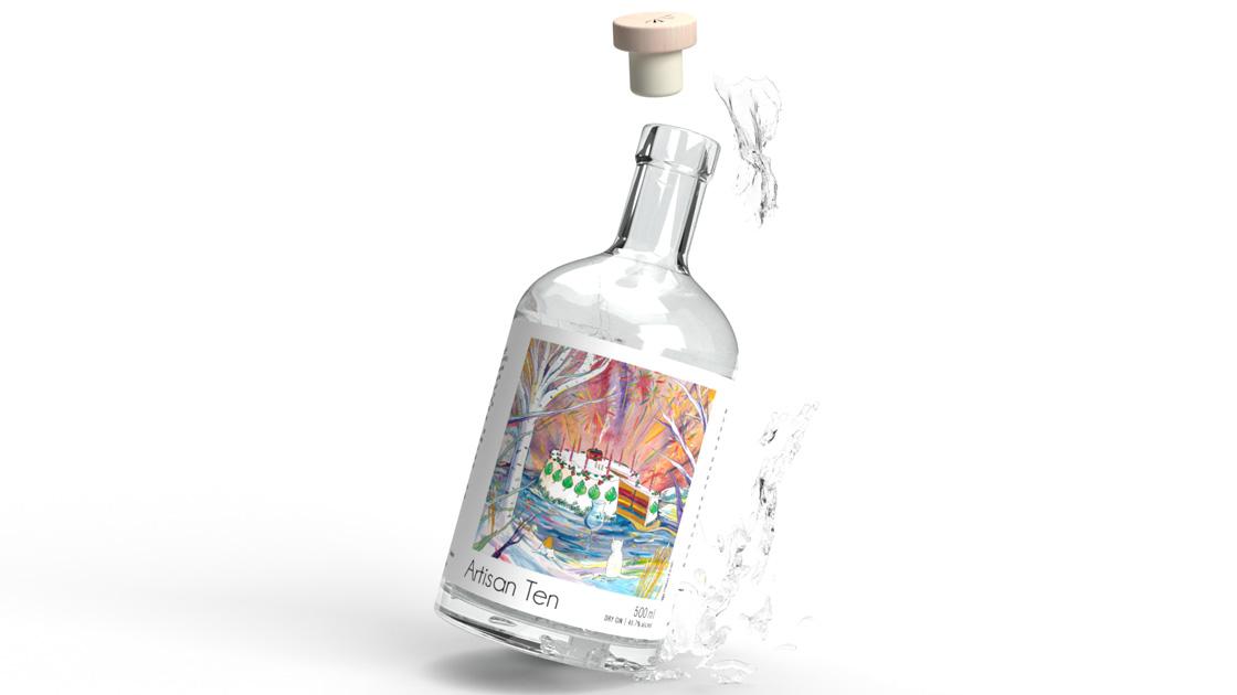 Hernö Gin lanserar Hernö Artisan Ten Gin, lagrad på björkfat