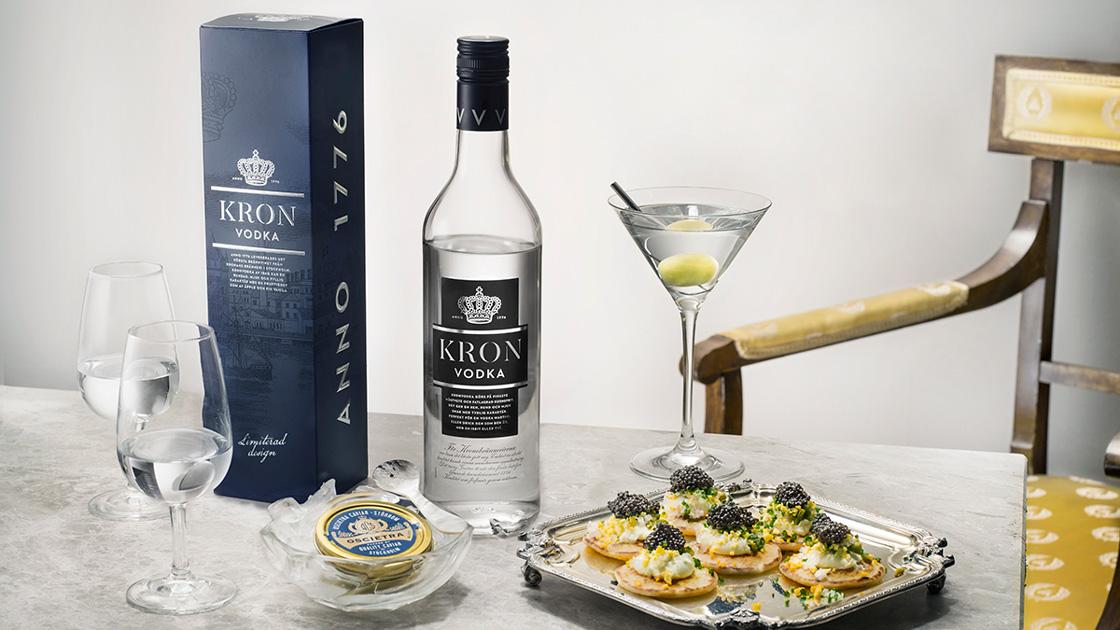 Blinier med kaviar