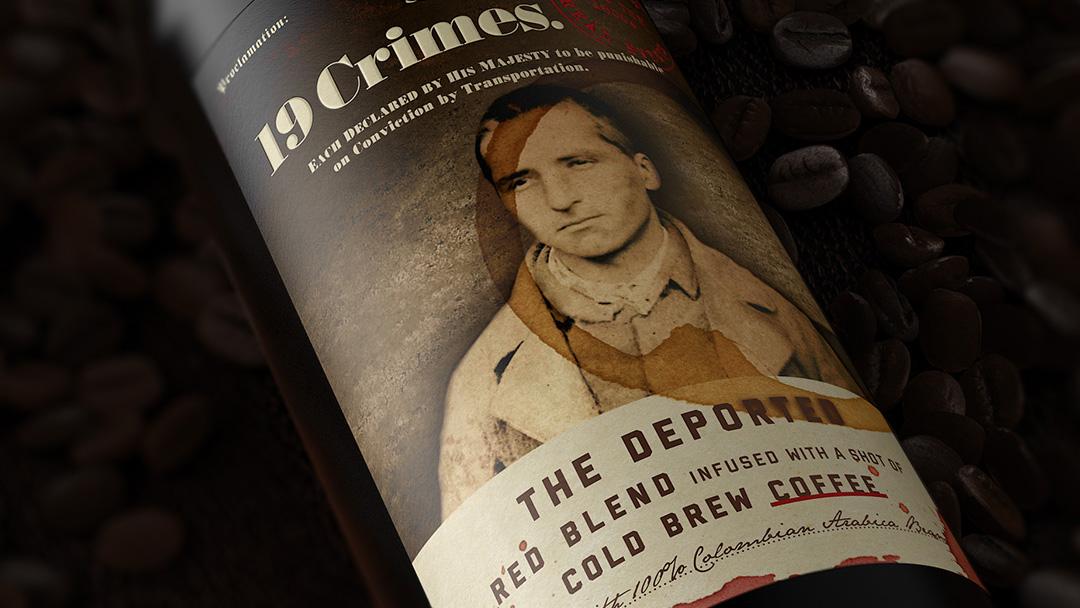 Nyhet från 19 Crimes kombinerar det bästa av två världar – vin med inslag av kallbryggt kaffe