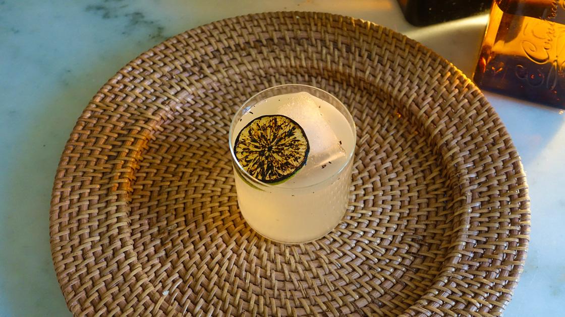 BBQ Margarita med grillad lime