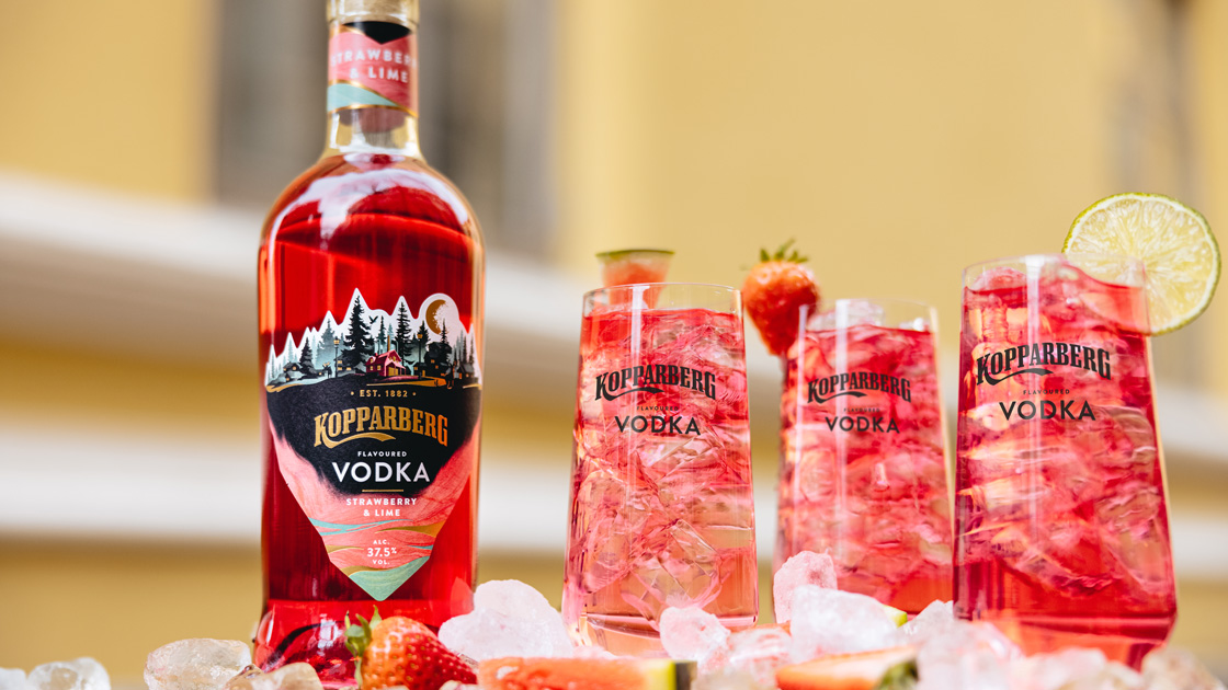 Kopparberg Vodka Strawberry & Lime