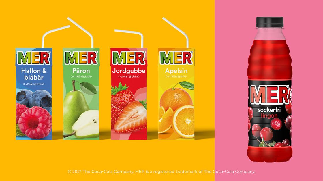MER lanserar ny sockerfri smakklassiker