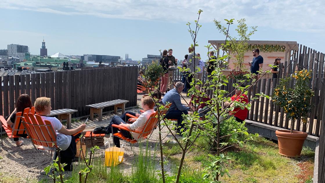 Urban deli öppnar sin populära takpark idag