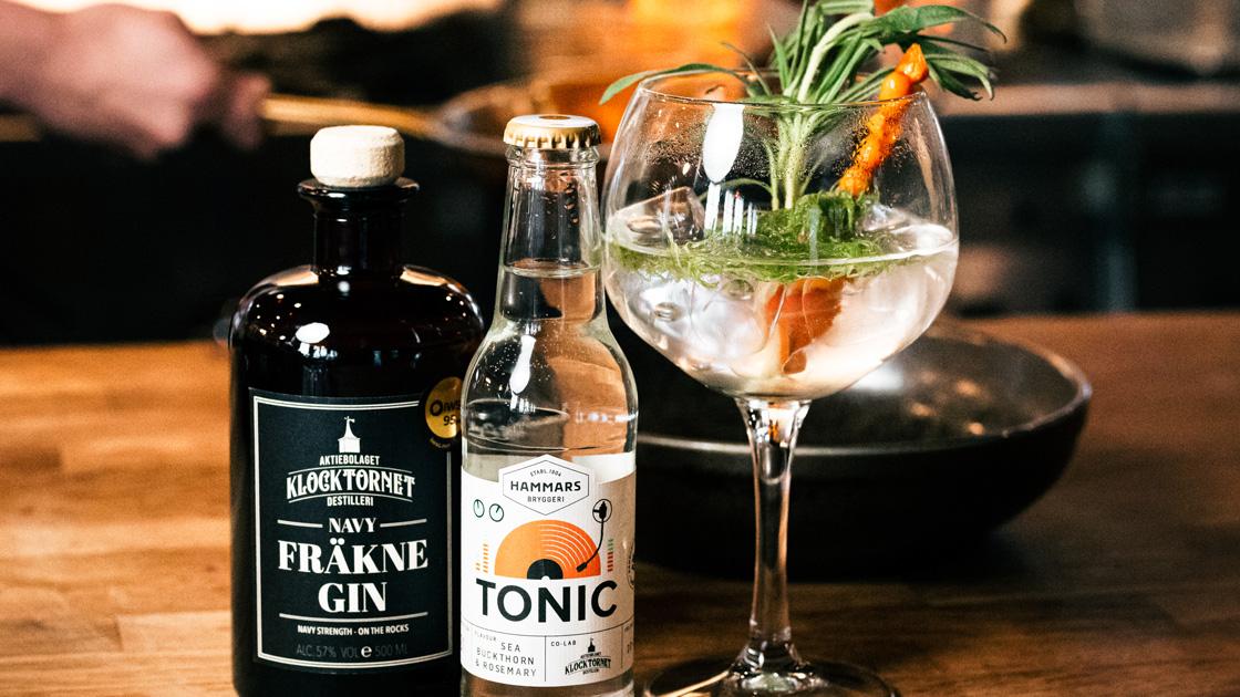 Hammars Tonics offentliggör en serie Limited Edition Tonics – först ut är en co-lab med prisbelönta Klocktornet Destilleri