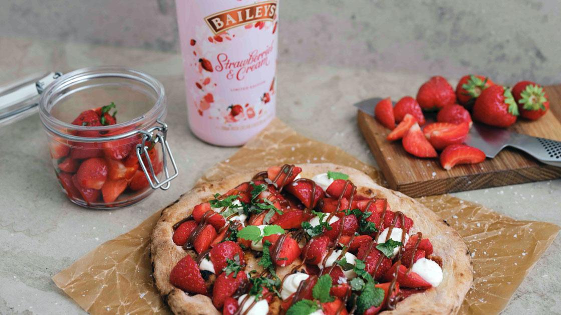 Baileys Berry Nice Slice by Badass Food Stories