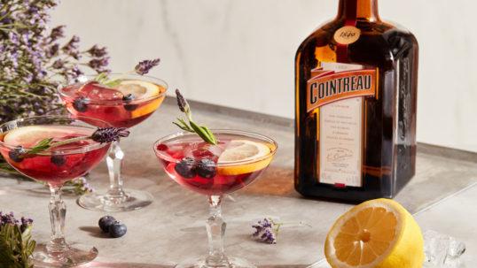Blåbär och lavendel-Margarita