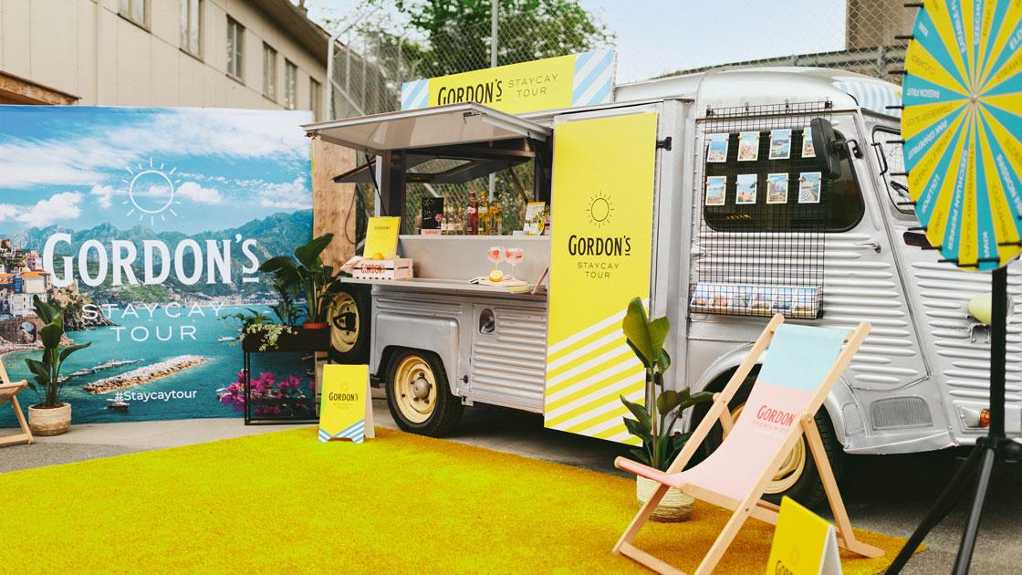 Designa din egen G&T i sommar på Gordon's Staycay Tour