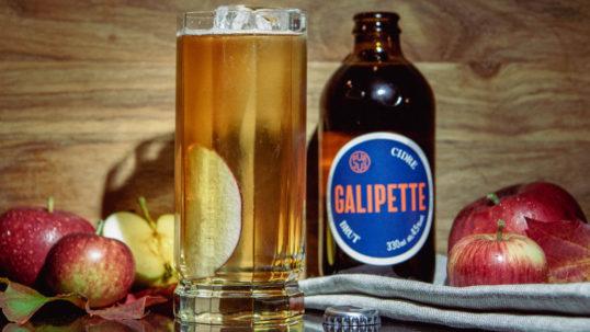 Fira Äpplets Dag med den hantverksmässiga cidern Galipette