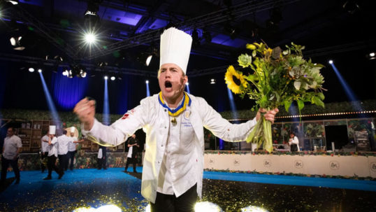 Vinnaren i Årets Kock 2021 är Gustav Leonhardt