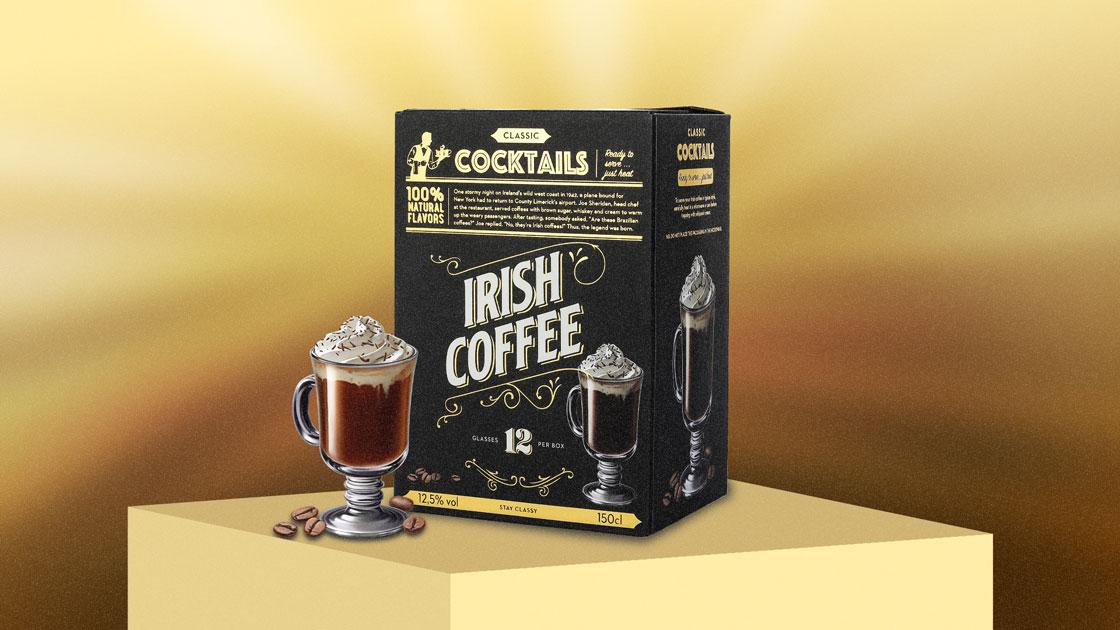 Classic Cocktails Irish Coffee