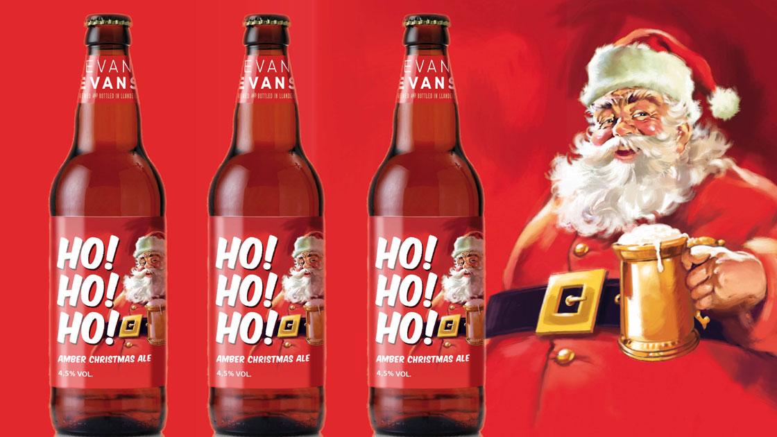 Julnyhet! Snart dags för årets julöl - Ho! Ho! Ho! Amber Christmas Ale