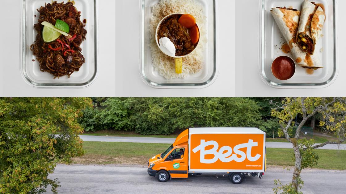 Best Transport levererar nu Enkla Kassen till norrlandska hem